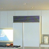 Laminate Cabinets & Corian Tops
